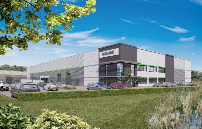 Thumbnail Warehouse for sale in Unit 4, Cransley Park, Kettering, Northamptonshire