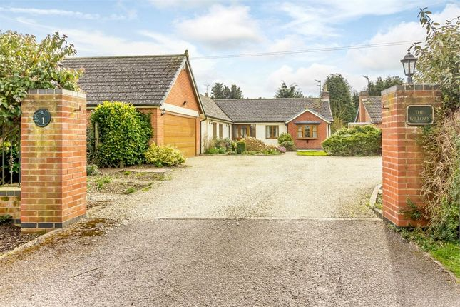 Thumbnail Detached bungalow for sale in Six Hills Road, Ragdale, Melton Mowbray, Leicestershire