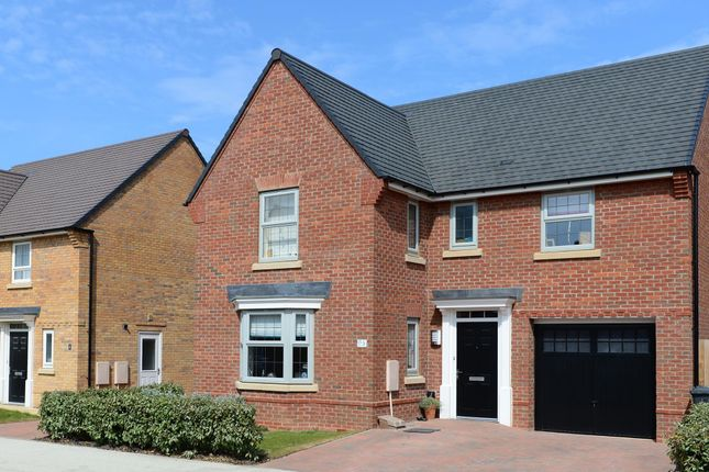 "Thumbnail Detached house for sale in ""Drummond"" at Beggars Lane, Leicester Forest East, Leicester"