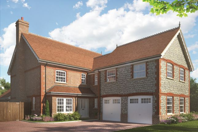 Thumbnail Detached house for sale in Cutbush Lane, Shinfield, Reading
