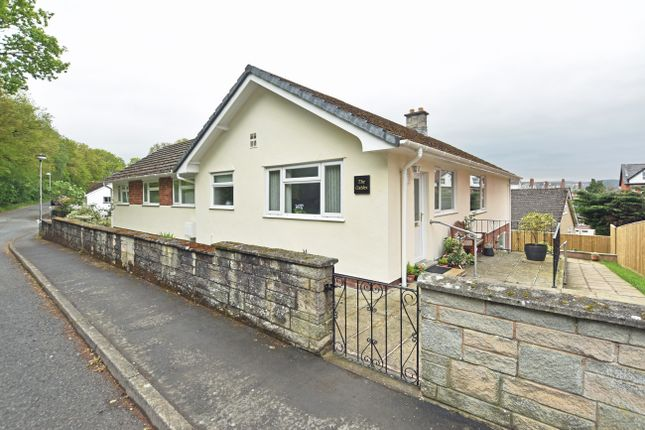 Thumbnail Detached bungalow for sale in Western Promenade, Llandrindod Wells