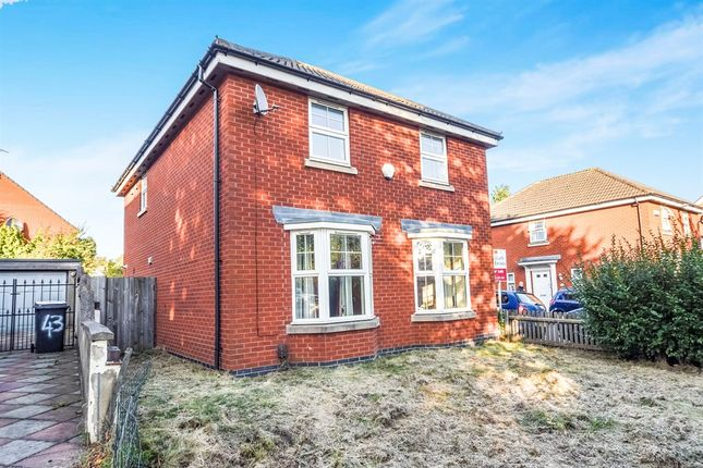 Thumbnail Detached house for sale in Larchmont Road, Leicester