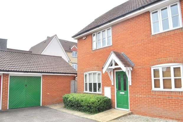 Thumbnail Semi-detached house for sale in Emperor Circle, Ipswich