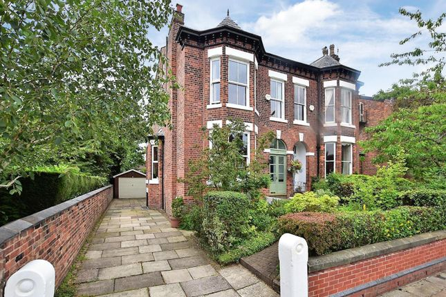 Thumbnail Semi-detached house for sale in Alan Road, Withington, Manchester