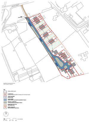 Site Map of Hastingwood Park, Harlow Common, Essex CM17