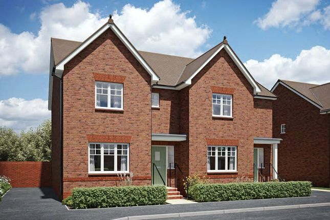 Thumbnail Semi-detached house for sale in The Sherston, The Strawberry Field, Rea Lane, Hempsted