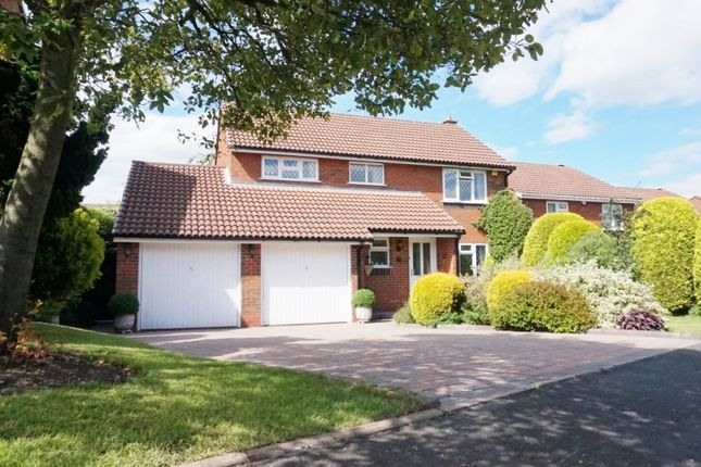 Thumbnail Detached house for sale in Beverley Close, Wylde Green, Sutton Coldfield