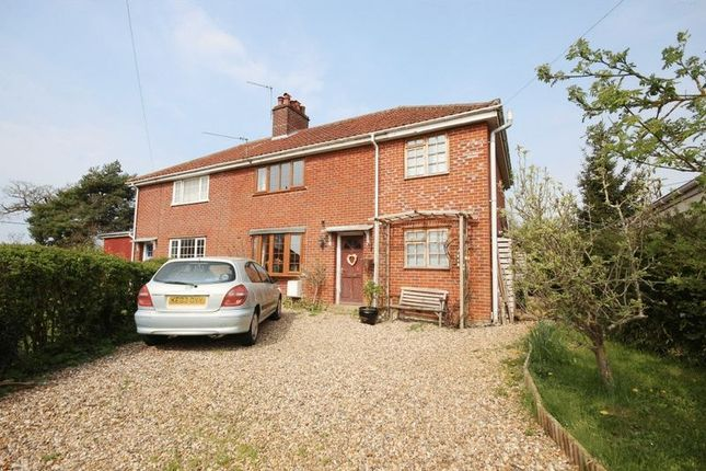 Thumbnail Semi-detached house for sale in The Crescent, Hethersett, Norwich