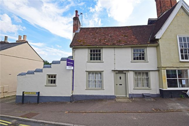 Thumbnail End terrace house to rent in Well Lane, Clare, Sudbury