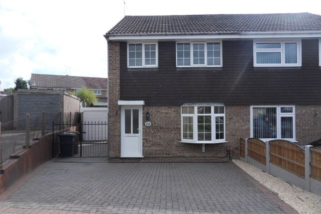 3 bed semi-detached house to rent in Ilford Close, Shipley View DE7