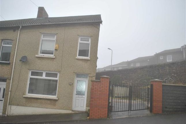 Thumbnail End terrace house to rent in Lady Tyler Terrace, Rhymney, Tredegar