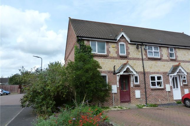 Thumbnail End terrace house to rent in Crofts Mead, Wincanton, Somerset