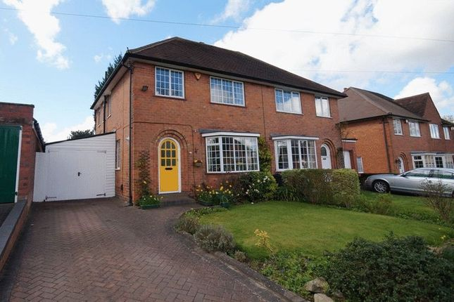 Thumbnail Semi-detached house for sale in Iris Close, Selly Oak, Birmingham