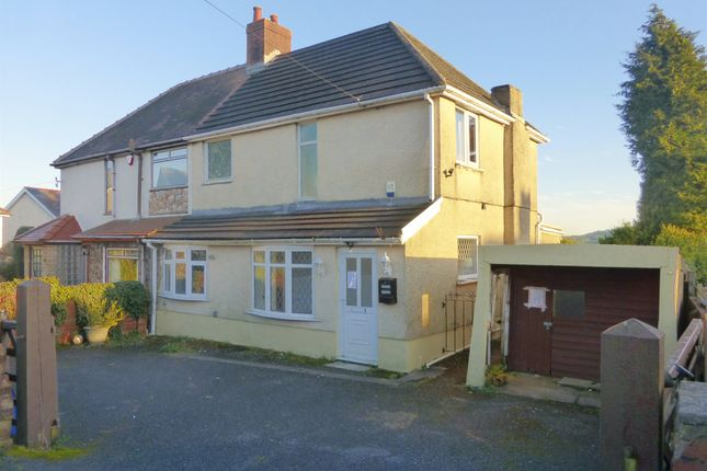 Thumbnail Semi-detached house for sale in Heol Fach, Treboeth, Swansea