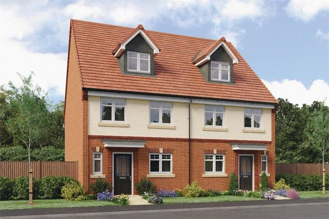 "Thumbnail Semi-detached house for sale in ""Auden"" at Ruby Lane, Mosborough, Sheffield"