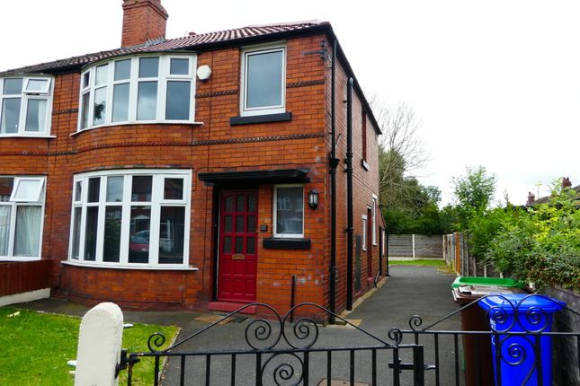 Thumbnail Semi-detached house to rent in Finchley Road, Fallowfield, Manchester