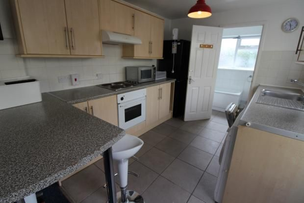 Thumbnail Terraced house to rent in Woodville Road, Cathays, Cardiff