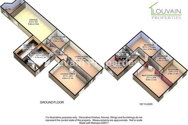 Thumbnail Semi-detached house for sale in Mechanics House, Tredegar, Blaenau Gwent