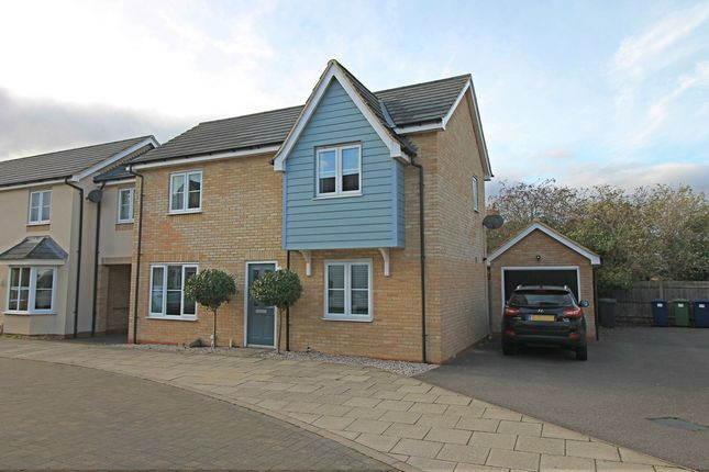Thumbnail Link-detached house for sale in Stokes Drive, Godmanchester