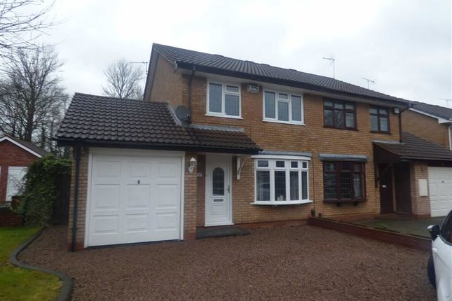 Thumbnail Semi-detached house for sale in Blackbrook Way, Wolverhampton, West Midlands