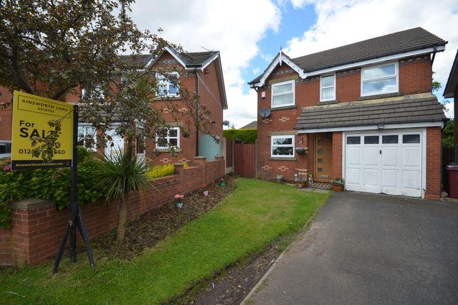 Thumbnail Detached house for sale in Elgar Close, Guide, Blackburn