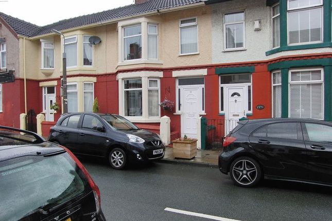 Thumbnail Terraced house for sale in Chatsworth Avenue, Walton, Liverpool