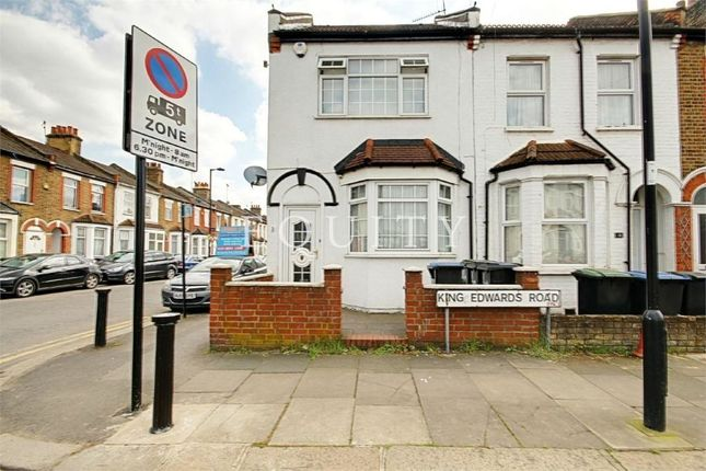 Thumbnail End terrace house for sale in King Edwards Road, Enfield