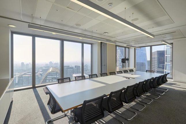 Thumbnail Office to let in Salesforce Tower 110 Bishopsgate, London