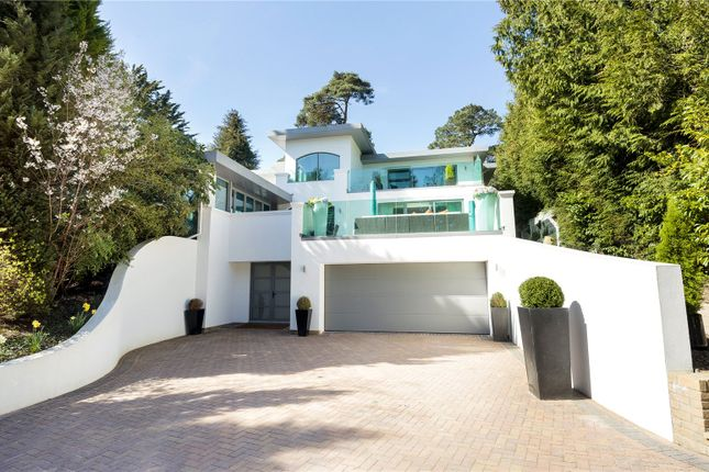 Thumbnail Detached house for sale in Western Road, Branksome Park, Poole, Dorset