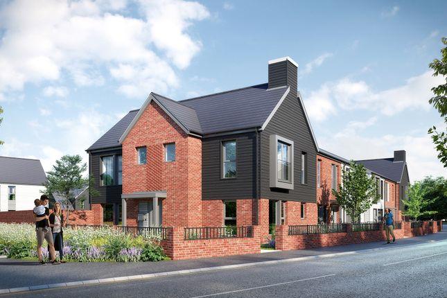Thumbnail End terrace house for sale in Mindenhurst Road, Deepcut