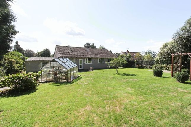 Thumbnail Detached bungalow for sale in Clevedon Road, Tickenham, Clevedon