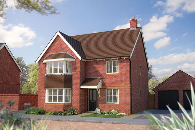 "Thumbnail Detached house for sale in ""The Oxford"" at The Poppies, Meadow Lane, Moulton, Northwich"