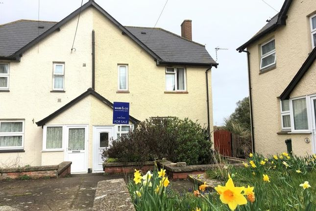 Thumbnail Semi-detached house for sale in Tower Hill, Stogursey, Somerset