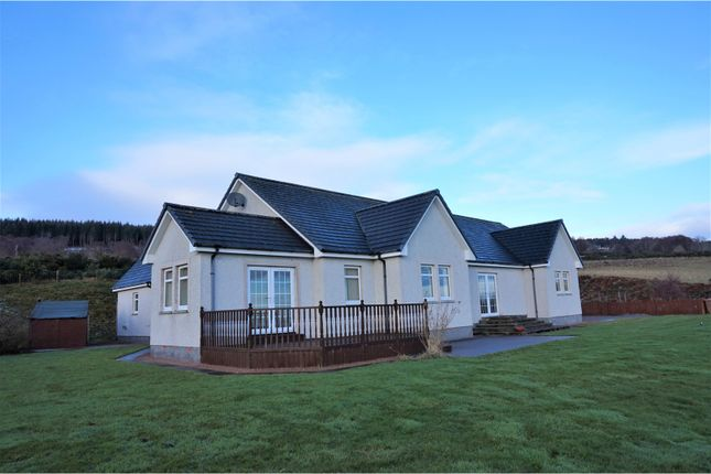 Thumbnail Detached bungalow for sale in Ruisaurie, Beauly