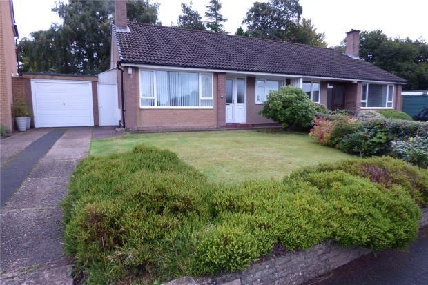 Thumbnail Semi-detached bungalow for sale in Greencroft, Brampton, Cumbria