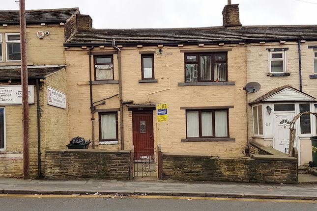 Thumbnail Terraced house to rent in Great Horton Road, Bradford