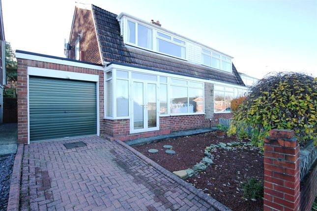 Thumbnail Semi-detached house for sale in Hawthorn Crescent, Gilesgate Moor, Durham