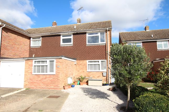 Thumbnail Semi-detached house for sale in Woodfield End, Layer-De-La-Haye, Colchester