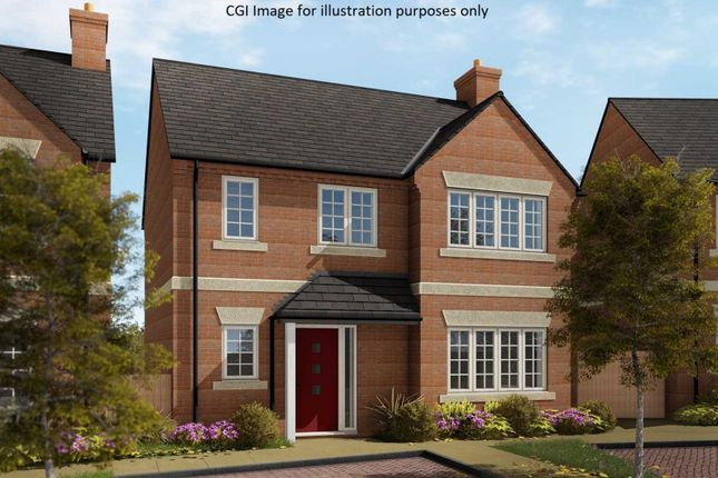Thumbnail Detached house for sale in Simpson, Milton Keynes