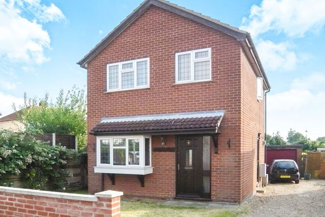 Thumbnail Detached house for sale in Neville Close, Sprowston, Norwich