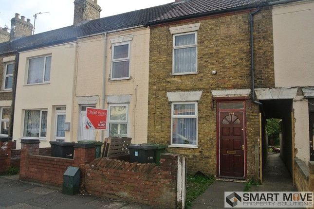 Thumbnail Terraced house for sale in Lincoln Road, Peterborough, Cambridgeshire.