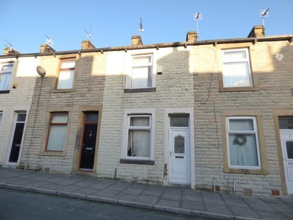 Front of Harley Street, Burnley, Lancashire BB12