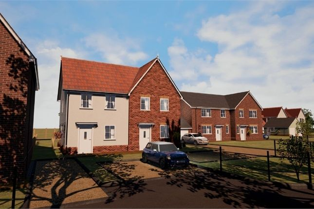 Thumbnail Semi-detached house for sale in Bucklesham Road, Foxhall, Ipswich, Suffolk