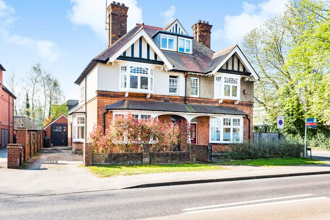 Thumbnail Semi-detached house for sale in Parvis Road, West Byfleet