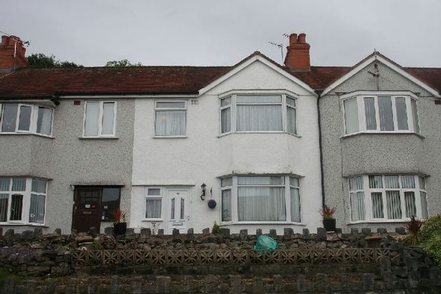 Thumbnail Terraced house to rent in Grange Road, Colwyn Bay