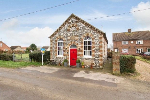 Thumbnail Detached house for sale in Chapel Lodge North Street, Great Dunham, King\'s Lynn