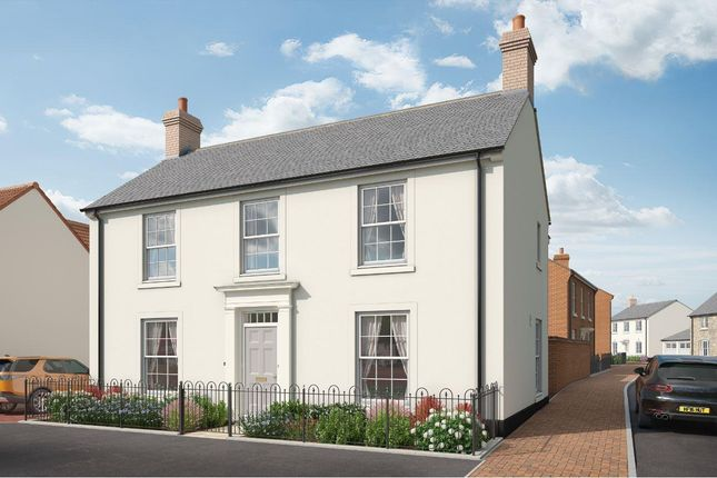 Thumbnail Detached house for sale in Courage Way, Chickerell, Weymouth