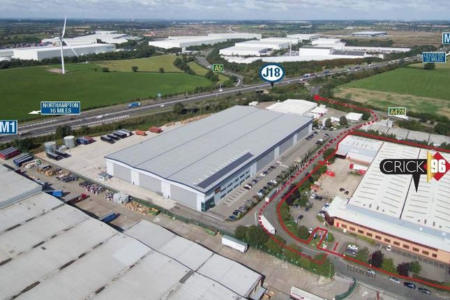 Thumbnail Warehouse to let in Crick 96 Eldon Way, Northampton, Northamptonshire