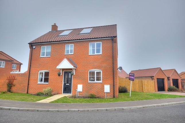 Thumbnail Detached house for sale in Burnt Fen Way, Hoveton, Norwich
