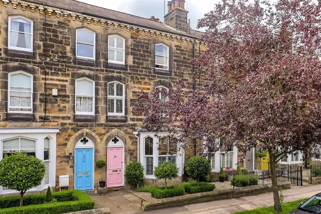 3 bed terraced house for sale in West End Avenue, Harrogate, North Yorkshire HG2